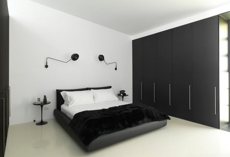 35 Timeless Black And White Bedrooms That Know How To Stand O