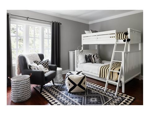 36 Black & White Bedrooms - Photos and Ideas for Bedrooms with .