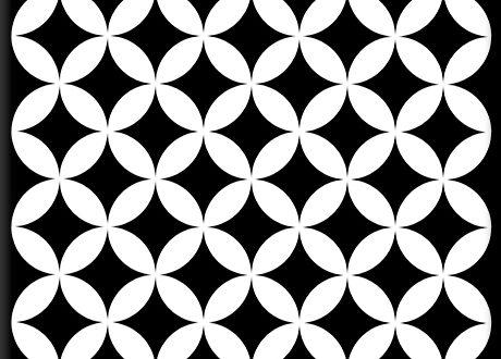 Needlepoint Decorative Tile | Oscar & Izzy Ceramic Til