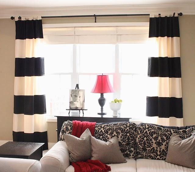 Wide array in Black And White Curtains (With images) | White .