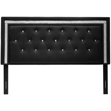 Best Master Furniture Tufted Vinyl Upholstered Headboard, Twin .