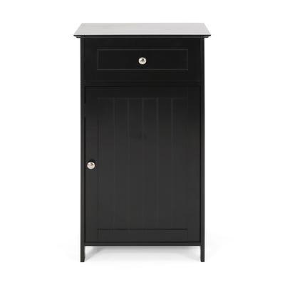 Buy 12-24 Inches, Black, Floor Cabinet Bathroom Cabinets & Storage .