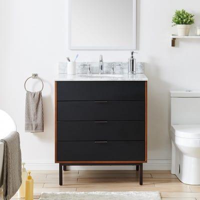 Buy Black Bathroom Vanities & Vanity Cabinets Online at Overstock .