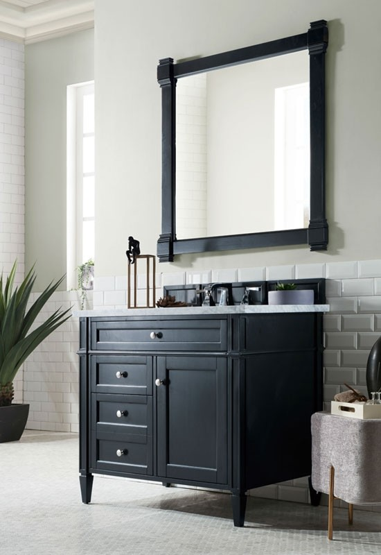 James Martin Brittany (single) 36-Inch Transitional Bathroom .