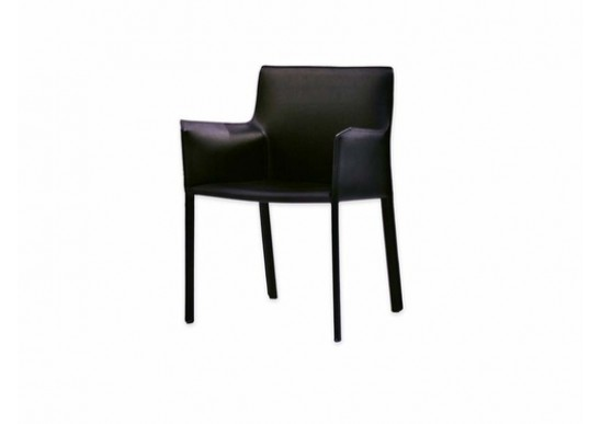 Il Fiore Black Modern Dining Room Arm Chairs | Contemporary Dining .