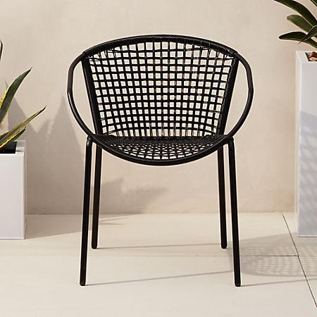 Sophia Black Dining Chair + Reviews | C
