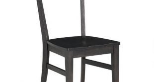 Black Wood Keanu Dining Chairs | World Mark