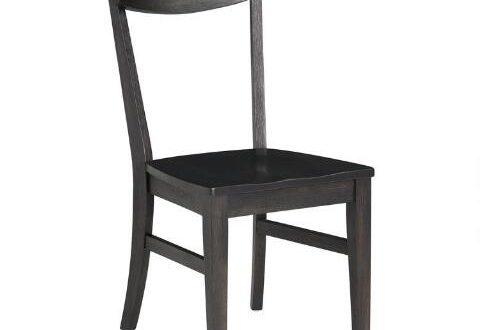 Black Wood Keanu Dining Chairs | World Mark