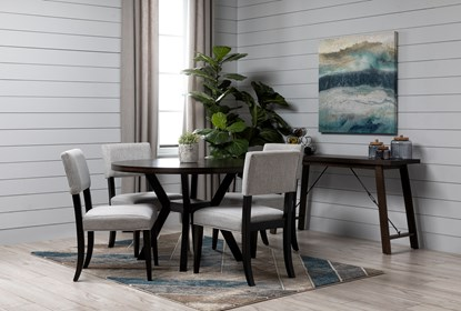 Macie Black Dining Table | Living Spac