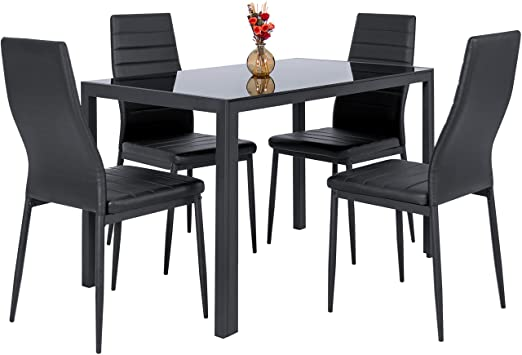 Amazon.com - Best Choice Products 5-Piece Kitchen Dining Table Set .