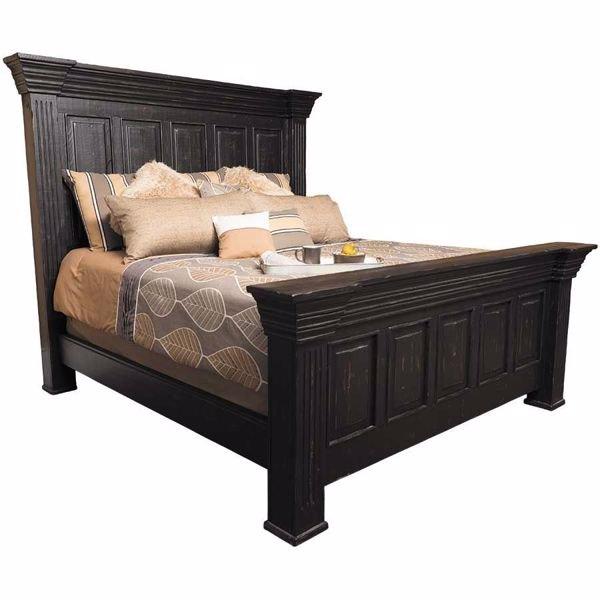 Black Isabella King Bed | BNL3000-KF+KH+KR | Nero Lupo | AFW.c