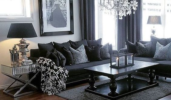 100 Modern Home Decor Ideas | Dark living rooms, Living room grey .
