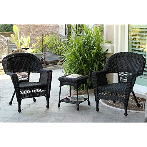 Black Wicker Chairs: Amazon.c