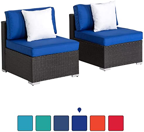 Amazon.com : Peach Tree Outdoor Loveseat 2 PCs Patio Furniture Set .