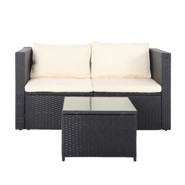 Black Rattan Garden Furniture