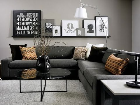 Top 40 Cheap Luxury Living Room Decor Ideas With Black Sofa | Best .