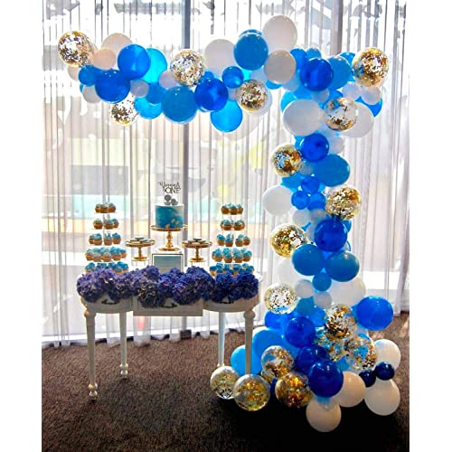 Royal Blue and Gold Baby Shower Decorations: Amazon.c
