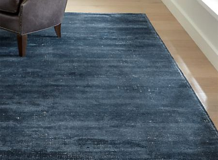 Vaughn Modern Blue Rug | Crate and Barr