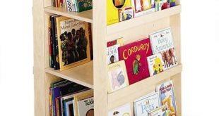 Space Saving Idea: Revolving Bookcases   Childrens bookcase, Kids .