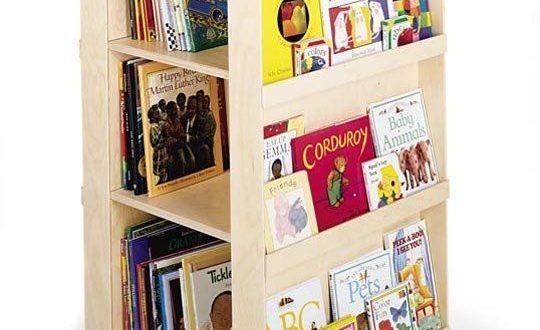 Space Saving Idea: Revolving Bookcases | Childrens bookcase, Kids .