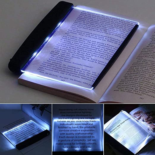 Amazon.com: Alisena Book Light, LED Reading Bright Light Lamp .