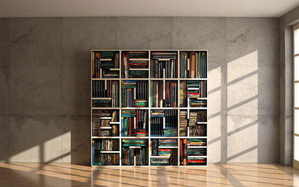 33 Creative Bookshelf Desig