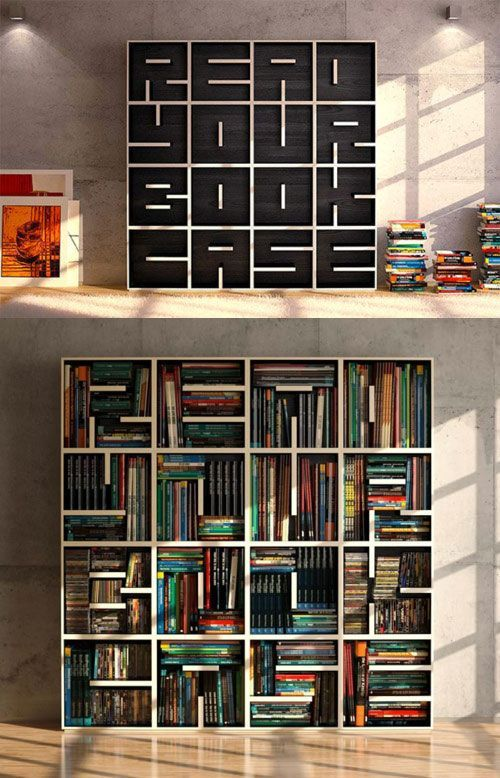 Creative Bookcase Designs | Bookshelf design, Shelves, Bookca