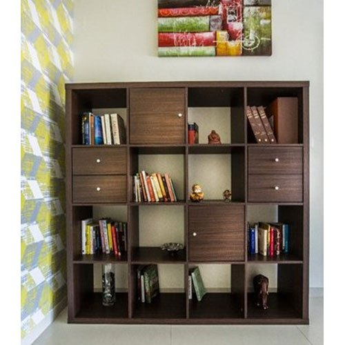 Designer Wooden Bookshelf at Rs 600 /square feet | लकड़ी के .