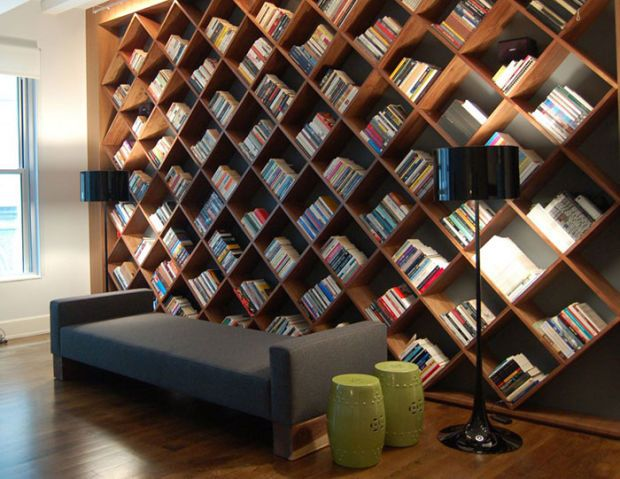The 22 Most Creative Bookshelf Designs Ever | Creative bookshelves .