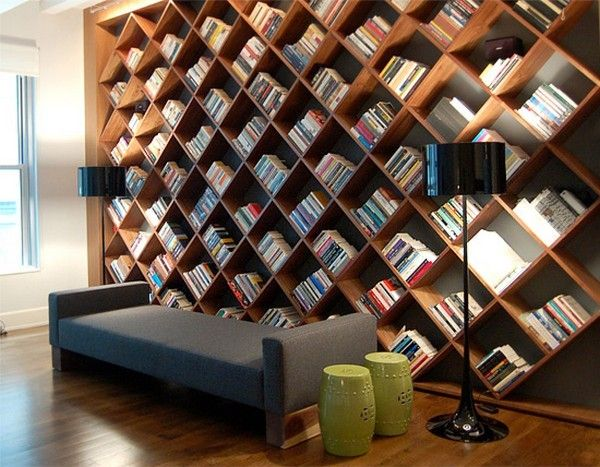 26 Of The Most Creative Bookshelves Designs | Home library design .