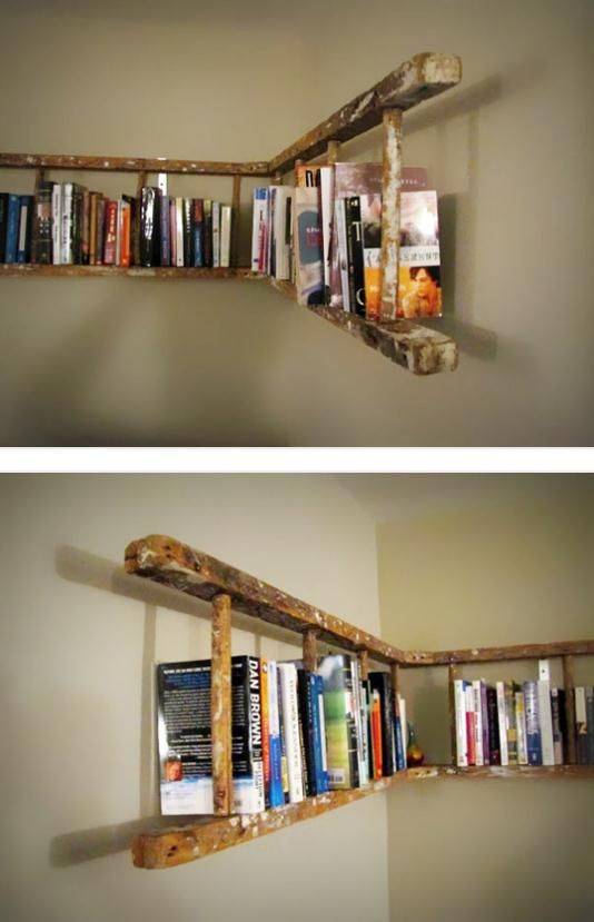 25 Awesome DIY Ideas For Bookshelves | Home, Home decor, New hom