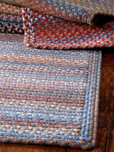Reversible Braided Rugs - Made in New Engla