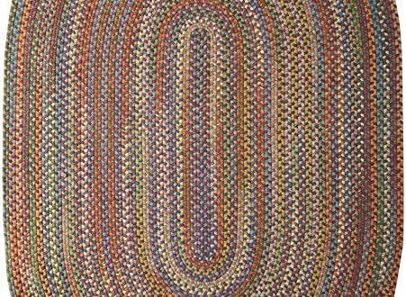 Amazon.com: Colonial Mills RU90R120X156 Rustica Braided Rug 10x13 .