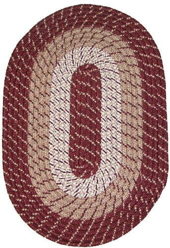 Amazon.com: Constitution Rugs Plymouth 5' x 8' Braided Rug in .