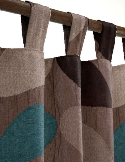 teal brown curtains - Google Search | Brown curtains, Teal living .