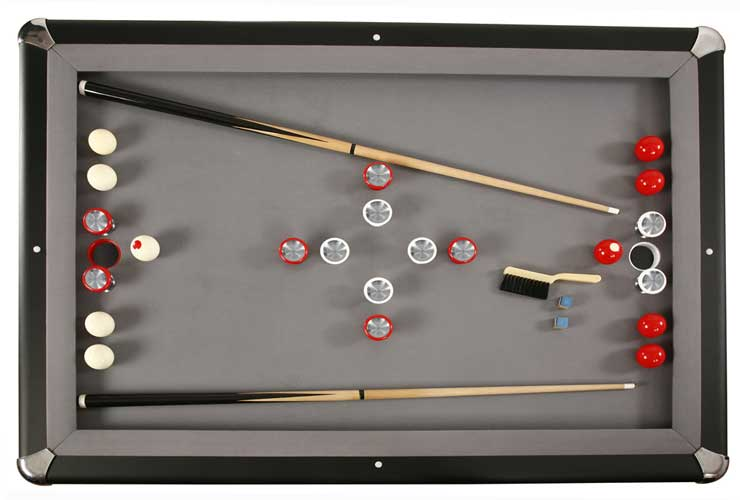 Carmelli Slate Bumper Pool Table by Harv