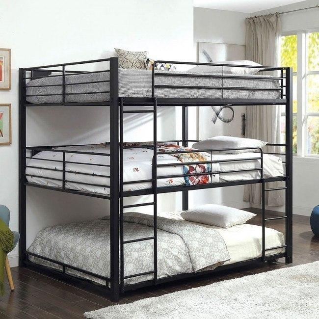 Carolyn Triple Queen Bunk Bed Furniture Of America | Furniture Ca