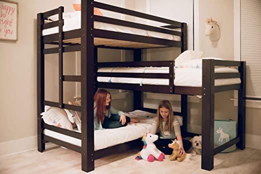 Amazon.com: Sydney L-Shaped Triple Bunk Bed: Kitchen & Dini