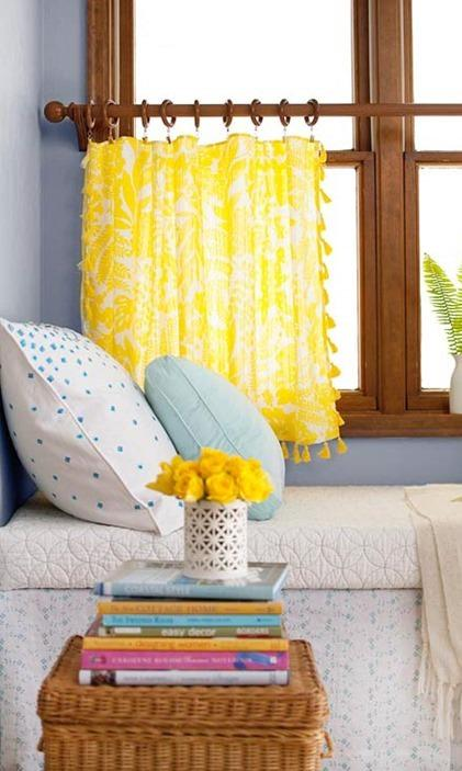 Custom Made Café Curtains & Drapes - Kitchen Curtains | Spiffy Spoo