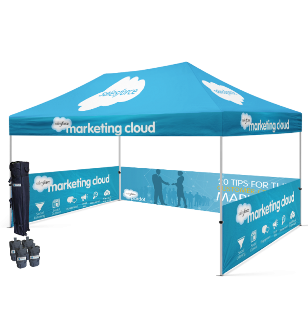 customize your trade show outdoor canopy tent With Starline Ten