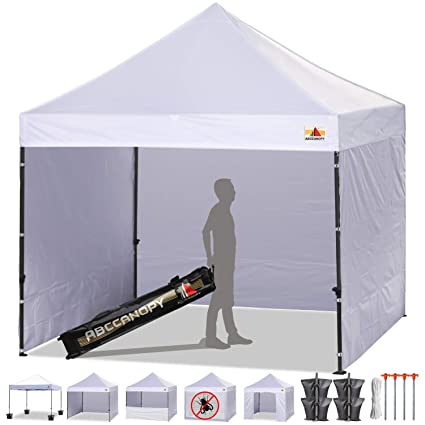 Amazon.com: ABCCANOPY 10 x 10 Easy Pop-up Canopy Tent Commercial .