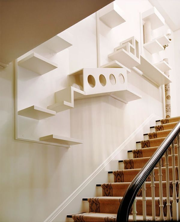 10 Amazing Cat Structures | Cat stairs, Cat climbing wall, Cat ro