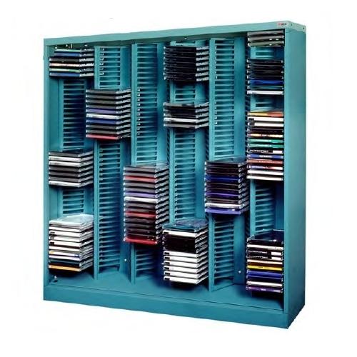 Media CD Storage Racks | CD Jewel Case Shelving Units | DVD .
