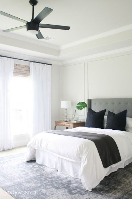 bedroom ceiling fan | Bedroom fan, Home bedroom, Bedroom ceili