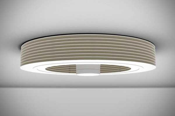 Modern Bladeless Ceiling Fan for Home Office | Bladeless ceiling .