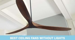 Best Ceiling Fans without Lights: Low-Profile, Hugger, Outdoor .