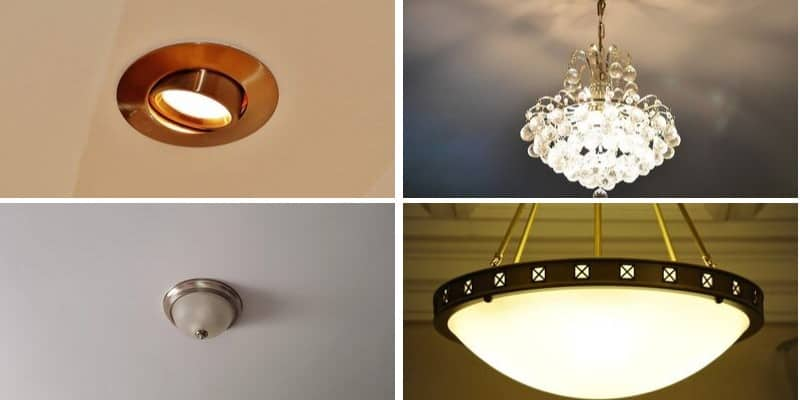 14 Different Types of Ceiling Lights for your Home | Epic Home Ide