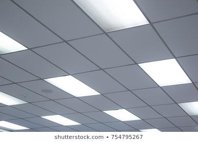 Office Ceiling Lights Stock Photos, Images & Photography .