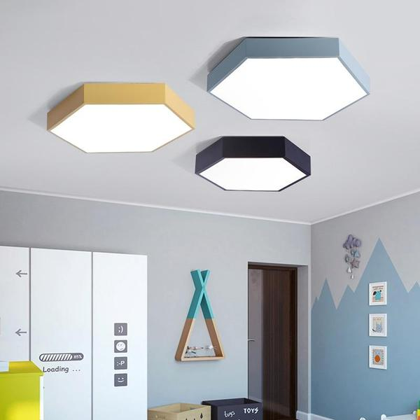 Hex Ceiling Lights – Warm