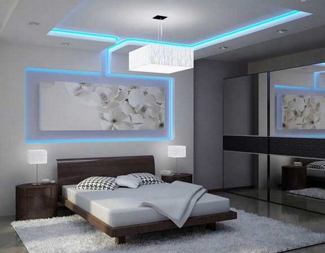 White IKEA bedroom ceiling lights ideas - Decolover.n